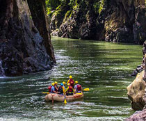 Costa Rica Helicopter tour for Rafting